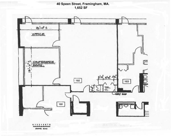 1652ft² Office