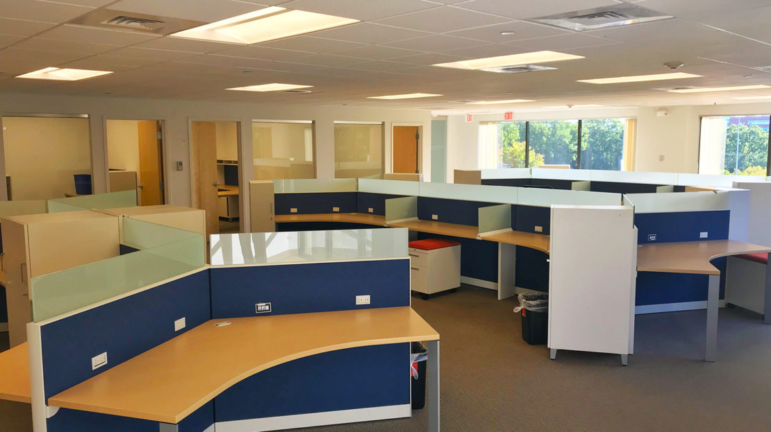 50 Speen Street Framingham MA cubicles First Class Office Building
