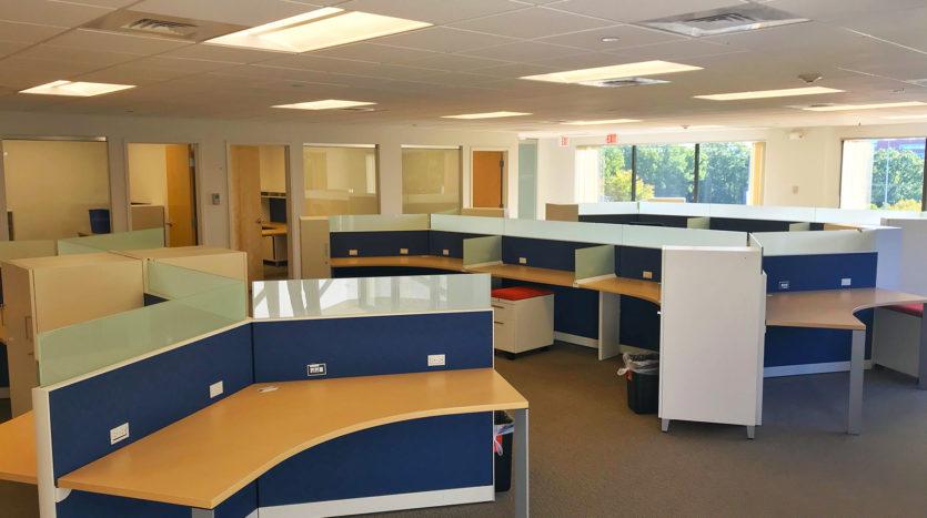50 Speen Street Framingham MA cubicles First Class Office Building